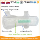 Super confortável Wholesales Erva de absorção absorventes higiênicos, Senhora Pad