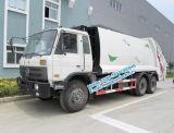 Dongfeng 6X4 11tonne compacteur de déchets de 18 m3 le chariot avec l'autonomie de la fonction de chargement à l'arrière pour la vente