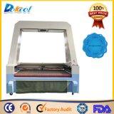 Máquina de gravura da estaca do laser do CO2 para o bordado com a máquina do CCD de Cameara