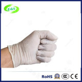 9 pollici di elasticità d'altezza di guanti bianchi chirurgici puri del nitrile