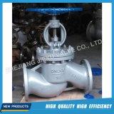 Vanne à gaz à bride à bride industrielle DIN Wcb