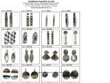 [توب قوليتي] نمط مجوهرات لأنّ سيّدة هبات 925 فضة حلق ([إ6456])