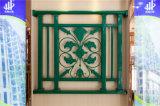 Balcon en acier galvanisé décoratif de haute qualité 29 de clôture d'alliage de Haohan Alluminum