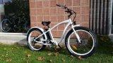 48V 500W 무브러시 후방 모터 남자 전기 바닷가 자전거 뚱뚱한 타이어 E 자전거