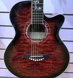 '' guitarra acústica 40 con la tapa de nube