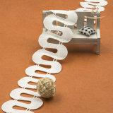 Testo fisso riflettente del merletto dell'elastico di sconto speciale 6cm