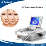 Portable 4MHz 10 Gear Shot Hifu Slimming Machine