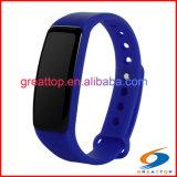 La pulsera elegante de los Wristbands del podómetro, desgasta los relojes elegantes androides