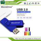 Vara livre do USB da movimentação do flash do USB do Twister OTG do logotipo