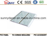Impression à transfert d'estampage à chaud Panneau de plafond en PVC Panneau mural en PVC