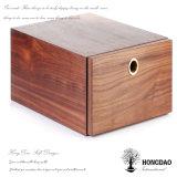 Hongdao personalizado Venta caliente caja de zapatos de madera con cajón para la venta _E