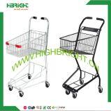 Conveniente Store Double Basket Shopping Cart