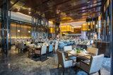 2017 Cadeira de jantar moderna com quadro de madeira maciça, mobiliário de restaurante comercial