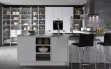 Кухонный шкаф хранения кухни высокого качества белый с Countertop и ручками нержавеющей стали
