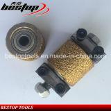 D250mmアメリカの市場のための真空によってろう付けされるブッシュのハンマーの粉砕車輪