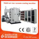 Il metallo di Cczk convoglia la macchina della decorazione/la macchina del piatto PVD acciaio inossidabile/multi macchina di rivestimento variopinta dello ione dell'arco dell'acciaio inossidabile
