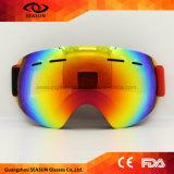 2017 de nieuwe het Skien van de Glazen van het Masker van de Ski UV400 van de Beschermende brillen van de Ski van het Ontwerp Dubbele Mist Grote Beschermende brillen van Snowboard van de Sneeuw van de Vrouwen van Mannen