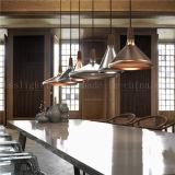 Lâmpadas de alumínio do pendente do estilo simples moderno da réplica para a iluminação do restaurante