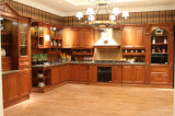 北アメリカのかえでの純木の食器棚