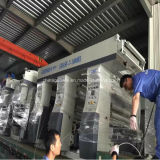 Medium-Speed 8 печатная машина 130m/Min пленки Rotogravure мотора цвета 3