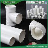 Montaje del tubo de PVC Tubo de UPVC Tubo de drenaje de PVC-U