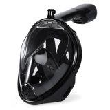 Vrij duiken van het Silicone van het Gezicht van Smaco snorkelt het Volledige Masker 180 Brede Gemakkelijke Mening met Mist en anti-Lek ademen