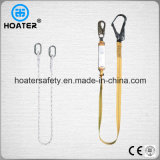 완충기를 가진 밧줄 또는 가죽 끈 모양 1.5-2m 안전 벨트 방아끈