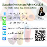 Tecido não tecido tecido de polipropileno impresso