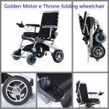 Heißer Verkauf! Neuer erfinderischer Entwurf 8, 10, 12 Energien-elektrischer faltender Rollstuhl motorisierter Rollstuhl mit Cer-Bescheinigung, rückseitiger Rest, der 5 geneigte Winkel kippt