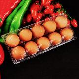 cassetto di plastica impaccante dell'uovo dell'animale domestico della copertura superiore trasparente ecologica del commestibile