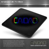 Nova chegada Caidao TV Android WiFi Smart TV Box para TV 2017 Octa Core Android 7.1 1GB / 8GB 2GB / 8GB e 2GB / 16GB Kodi 4k Internet Box