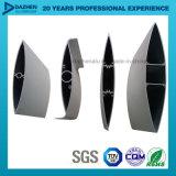 6063 personalizou o perfil de alumínio de alumínio industrial