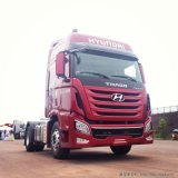 Carro de remolque de Hyundai Xcient 4X2 con la tracción de la tonelada 60-80