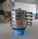 Pantalla vibratoria redonda del acero inoxidable de cuatro cubiertas
