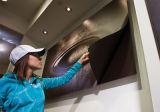 Affiche de vinyle ferreux magnétique récepteur d'impression d'impression graphique murale