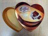 Caja de papel grado alimenticio envasado / embalaje de la bandeja de chocolate para vaciar la caja de Chocolate