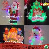 Santa Claus Holiday Light LED String String decorativo para decoração ao ar livre