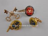 Metallo su ordinazione Keychain con il marchio di fusione sotto pressione (GZHY-KA-003)