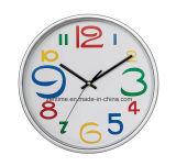 Reloj de pared de moda promocional del número colorido