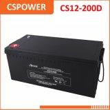 batería profunda CS12-200d solar de la UPS de la energía solar VRLA del ciclo 12V200ah