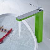 Faucet de lavabo Robinet en fonte chromée