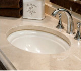 Rectangular Oval Counter Top Ceramic Bathroom Corner Wash Basin Preço