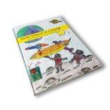 Chindrenブック、マットラミネート用のカスタムカラフルなハードカバーの本の印刷、