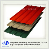 Folha revestida Prepainted Trapezoid da telhadura da cor ondulada do metal
