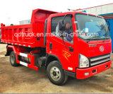 아주 새로운 FAW 4X2 3-5 톤 덤프 트럭