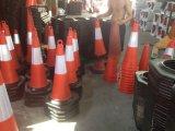 cones alaranjados reflexivos do tráfego de 75cm (CC-A02)