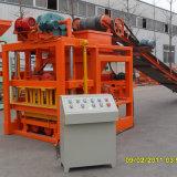 Machine de moulage automatique de bloc de trottoir au Ghana