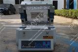 1200c разделило длиннюю печь пробки с пробкой кварца Dia 60mm (зоной 600mm нагрюя) & фланцами вакуума