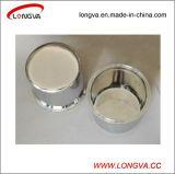 Aço inoxidável sanitárias Tri Carretel de Fechamento com a placa do filtro