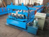 機械を形作る電流を通された鋼鉄床のDeckingシートロール